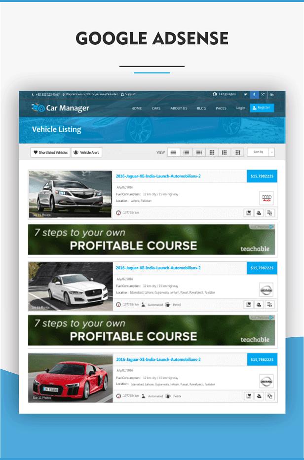 Car Manager - Car Dealership Business WordPress Theme - 25