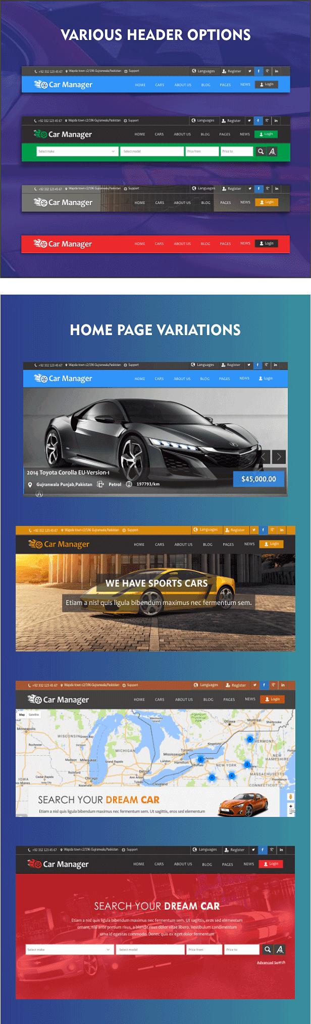 Car Manager - Car Dealership Business WordPress Theme by joomsky ...
