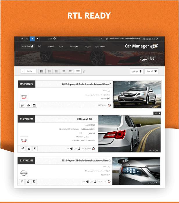 Car Manager - Car Dealership Business WordPress Theme - 27